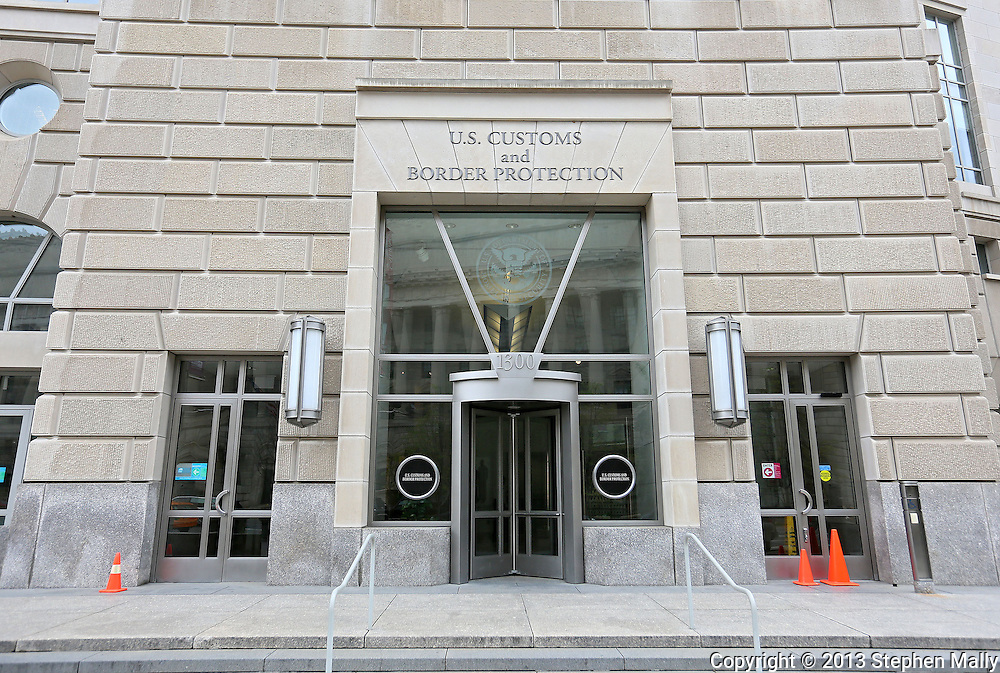 United States Customs and Border Protection agency in the Ronald Reagan Building and International Trade Center in Washington, DC on Monday, April 15, 2013.