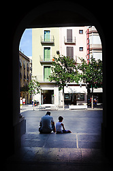 Street scene in Figueres, Catalonia, Spain<br /> <br /> (c) Andrew Wilson | Edinburgh Elite media