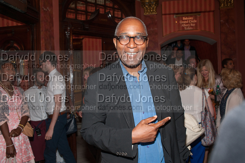 TREVOR PHILLIPS, West End opening of RSC production of Julius Caesar at the Noel Coward Theatre on Saint Martin's Lane. After-party  at Salvador and Amanda, Gt. Newport St. London. 15 August 2012.