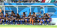 The bench of Italy looks on during the 2014 FIFA World Cup match at Itaipava Arena Pernambuco, Recife metropolitan area<br /> Picture by Stefano Gnech/Focus Images Ltd +39 333 1641678<br /> 20/06/2014
