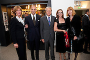 SIGNORA GIANCARLO ARAGONA; DR. LUIGI MARAMOTTI; GIANCARLA ARAGONA ITALIAN AMBASSADOR; SIGNORA MARAMOTTI; CANDIDA SLATER,  Hannah RickardÕs exhibition; No, there was no red.9. MaxMara Prize for Women, in collaboration with the Whitehachapel Gallery. Whitechapel. London.  September 2009.<br /> SIGNORA GIANCARLO ARAGONA; DR. LUIGI MARAMOTTI; GIANCARLA ARAGONA ITALIAN AMBASSADOR; SIGNORA MARAMOTTI; CANDIDA SLATER,  Hannah Rickard?s exhibition; No, there was no red.9. MaxMara Prize for Women, in collaboration with the Whitehachapel Gallery. Whitechapel. London.  September 2009.