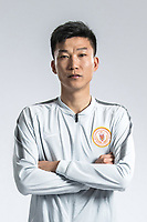 **EXCLUSIVE**Portrait of Chinese soccer player Liu Yang of Beijing Renhe F.C. for the 2018 Chinese Football Association Super League, in Shanghai, China, 24 February 2018.