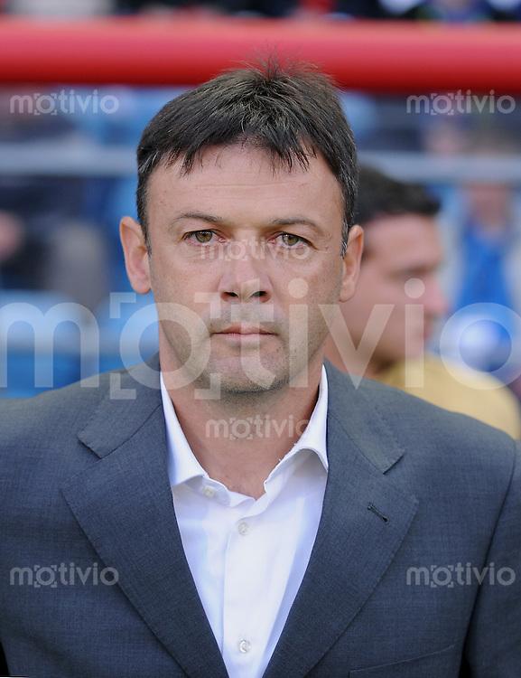 Fussball  International U 21 Europameisterschaft 2009 Italien - Serbien SRB Trainer Slobodan Krcmarevic