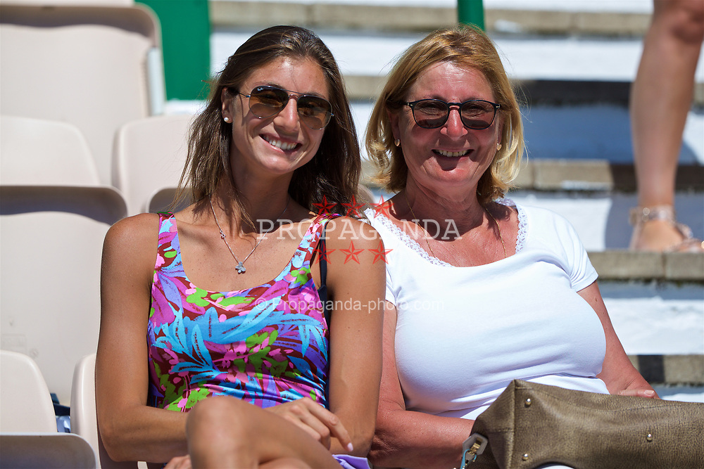 LIVERPOOL, ENGLAND - Sunday, June 18, 2017: Corinna Dentoni (ITA) during the Men's Final on Day Four of the Liverpool Hope University International Tennis Tournament 2017 at the Liverpool Cricket Club. (Pic by David Rawcliffe/Propaganda)
