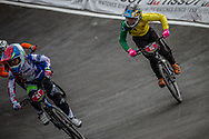 Cruiser - 12 & Under Men #15 (JOLLY Joshua) AUS at the 2018 UCI BMX World Championships in Baku, Azerbaijan.