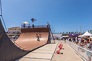 Vans BMX Vert Ramp at the Vans US Open of Surfing Competition