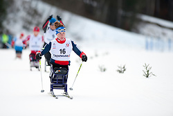 McFADDEN Tatyana, USA at the 2014 IPC Nordic Skiing World Cup Finals - Sprint