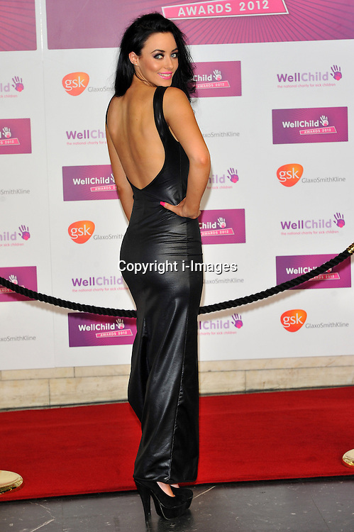 Hattie Keane arriving at the  WellChild Awards held in London on Monday, 3rd September 2012. Photo by: Chris Joseph / i-Images