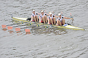 London, Great Britain,   Start No 105 LEANDER X.  Women's Elite 4x-. approach the start at Mortlake, Photo from Chiswick Bridge.  Fullers,  Fours Head of the River Race, Championship Course, Mortlake to Putney, River Thames. Saturday   05/11/2011   [Mandatory Credit. Peter Spurrier/Intersport Images]