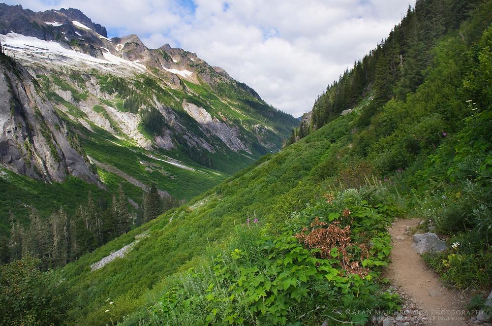 Trail to Hannegan Pass, Mount Baker Wilderness North Cascades Washington