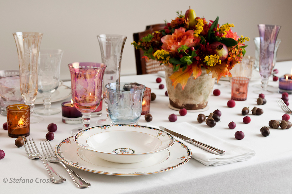 Francesca's Thanksgiving Table // www.florastable.com