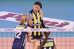 09-04-2016 ITA: CEV DenizBank Champions League Fenerbahce Grundig Istanbul - VakıfBank Istanbul, Montichiari<br /> Vakifbank wint met 3-0 en plaatst zich voor de finale / Yeon-Koung Kim of Fenerbahce Grundig Istanbul<br /> <br /> ***NETHERLANDS ONLY***