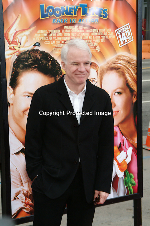 Steve Martin<br />&ldquo;Looney Tunes:  Back In Action&rdquo; Film Premiere<br />Grauman's Chinese Theater<br />Hollywood, CA, USA<br />Sunday, November, 09, 2003 <br />Photo By Celebrityvibe.com/Photovibe.com