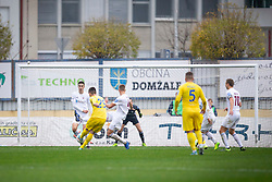 Arnel Jakupovic of Domzale during football match between NK Domzale and NK Triglav in Round #18 of Prva liga Telekom Slovenije 2019/20, on November 23, 2019 in Sports park Domzale, Slovenia. Photo by Sinisa Kanizaj / Sportida