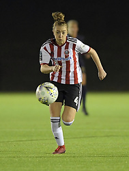 February 20, 2019 - Sheffield, United Kingdom - Sheffield United's Jade pennock in action during the  FA Women's Championship football match between Sheffield United Women and Manchester United Women at the Olympic Legacy Stadium, on February 20th Sheffield, England. (Credit Image: © Action Foto Sport/NurPhoto via ZUMA Press)