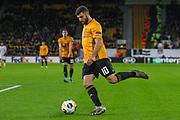 Patrick Cutrone of Wolverhampton Wanderers during the Europa League match between Wolverhampton Wanderers and Besiktas at Molineux, Wolverhampton, England on 12 December 2019.