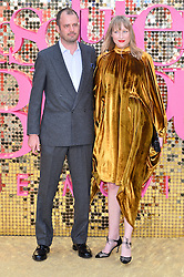 © Licensed to London News Pictures. 29/06/2016. JACK DYSON and JADE PARFITT attend the ABSOLUTELY FABULOUS world film premiere. London, UK. Photo credit: Ray Tang/LNP
