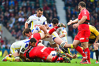 Damien CHOULY / Ruck - 02.05.2015 - Clermont / Toulon - Finale European Champions Cup -Twickenham<br />