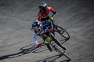 8 Boys #61 (CLITHEROE James) GBR at the 2018 UCI BMX World Championships in Baku, Azerbaijan.