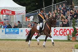 Gerdes, Hermann, Cindy OLD<br /> Warendorf BCH 2013<br /> Parade der Sieger<br /> © www.sportfotos-lafrentz.de / Stefan Lafrentz