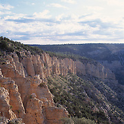 Rock formations at top of Crazy Jug Canyon viewed from Crazy Jug Pt, Grand Canyon National Park, Arizona..Media Usage:.Subject photograph(s) are copyrighted Edward McCain. All rights are reserved except those specifically granted by McCain Photography in writing...McCain Photography.211 S 4th Avenue.Tucson, AZ 85701-2103.(520) 623-1998.mobile: (520) 990-0999.fax: (520) 623-1190.http://www.mccainphoto.com.edward@mccainphoto.com.