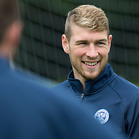 St Johnstone Training....24.07.15<br /> David Wotherspoon all smiles in training this morning<br /> Picture by Graeme Hart.<br /> Copyright Perthshire Picture Agency<br /> Tel: 01738 623350  Mobile: 07990 594431