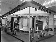 20/09/1957<br /> 09/20/1957<br /> 20 September 1957<br /> <br /> Stands at Ideal Home Exhibition for Modern Display Artists
