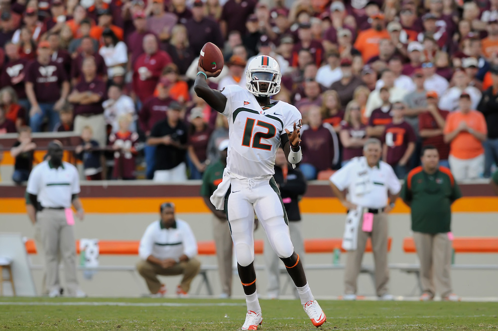 2011 Miami Hurricanes Football @ Virginia Tech
