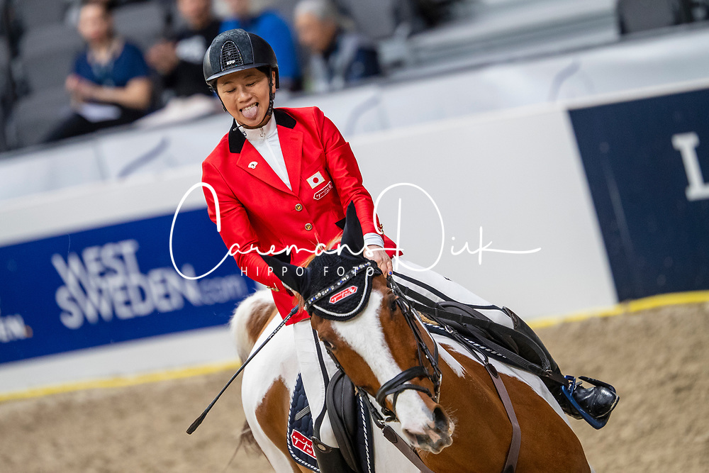 Hirota Shino, JPN, Life is Beautiful<br /> LONGINES FEI World Cup™ Finals Gothenburg 2019<br /> © Dirk Caremans<br /> 04/04/2019