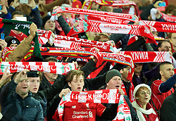 ADELAIDE, AUSTRALIA - Monday, July 20, 2015: Liverpool supporters before a preseason friendly match against Adelaide United at the Adelaide Oval on day eight of the club's preseason tour. (Pic by David Rawcliffe/Propaganda)