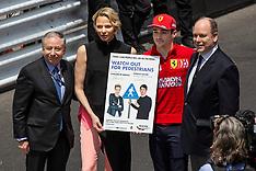 Monaco Royals at Monaco Grand Prix - 27 May 2019