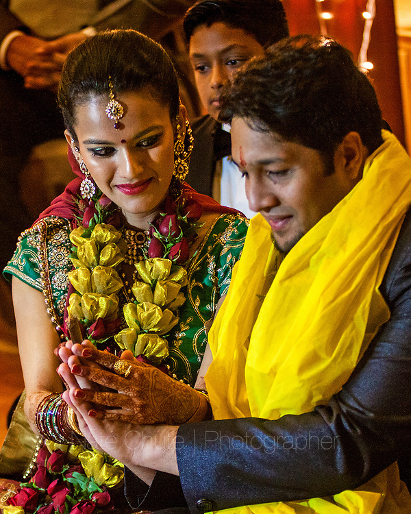 Arunima Krishna and Neeraj Angal wedding festivities in Lucknow, India on Tuesday, December 22, 2015.