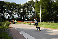 Amalie Dideriksen at Boels Rental Ladies Tour Stage 3 a 16.9 km individual time trial in Roosendaal, Netherlands on August 31, 2017. (Photo by Sean Robinson/Velofocus)