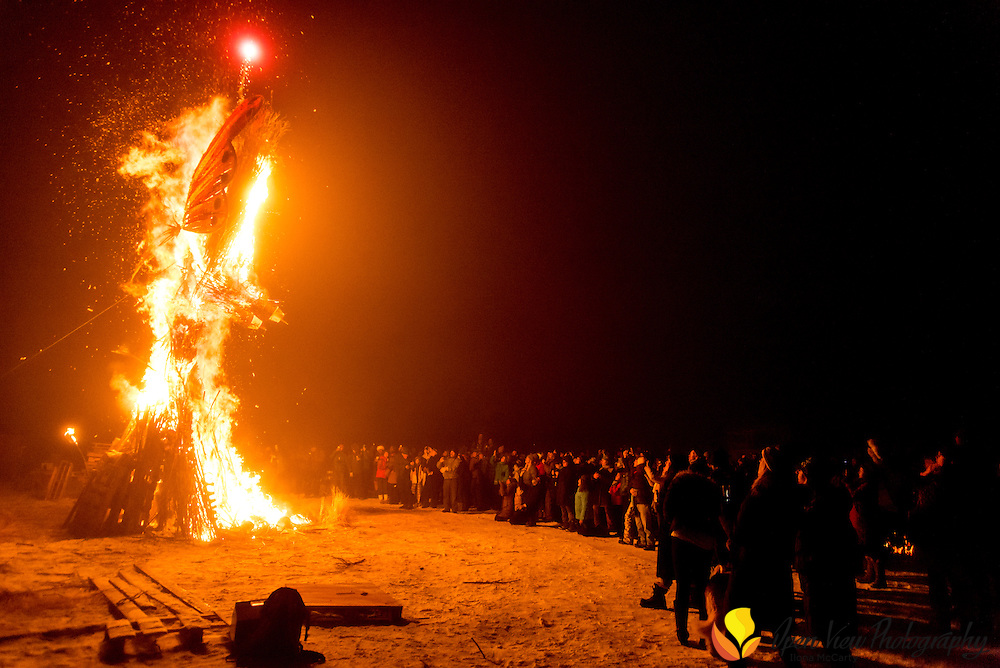 Burning Woman, Hailey Idaho