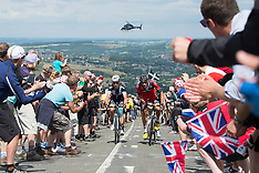 2014 Tour De France Stage 2 York to Sheffield July 6th