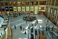 Inside of The Landmark shopping mall Hong Kong City Hong Kong August 2008