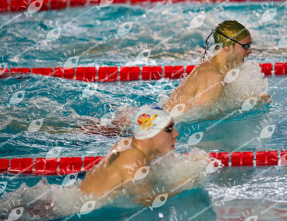 PESCE MattiaGS Fiamme Oro Roma<br /> 100m rana uomini batterie<br /> Campionati Italiani Assoluti Nuoto Primaverili<br /> Riccione  Italy 8 - 12/04/2013<br /> Day 02<br /> Photo Diego Montano/Deepbluemedia/Insidefoto