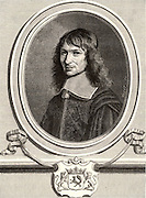 Nicolas Fouquet (1615-1880) French statesman. Engraving.