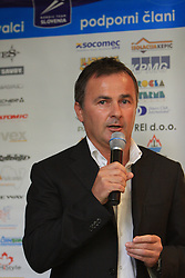Primoz Vlaga at nordic press conference before new season 2008/2009, on November 5, 2008, Ljubljana, Slovenia. (Photo by Vid Ponikvar / Sportida)..