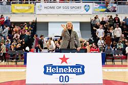 Half Time Sponsor Photo - Photo mandatory by-line: Ryan Hiscott/JMP - 17/01/2020 - BASKETBALL - SGS Wise Arena - Bristol, England - Bristol Flyers v London City Royals - British Basketball League Championship