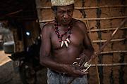Xerente tribesmen  in the village of Tocantinia, Brazil, Friday, 00, 2015. (Hilaea Media/ Dado Galdieri)