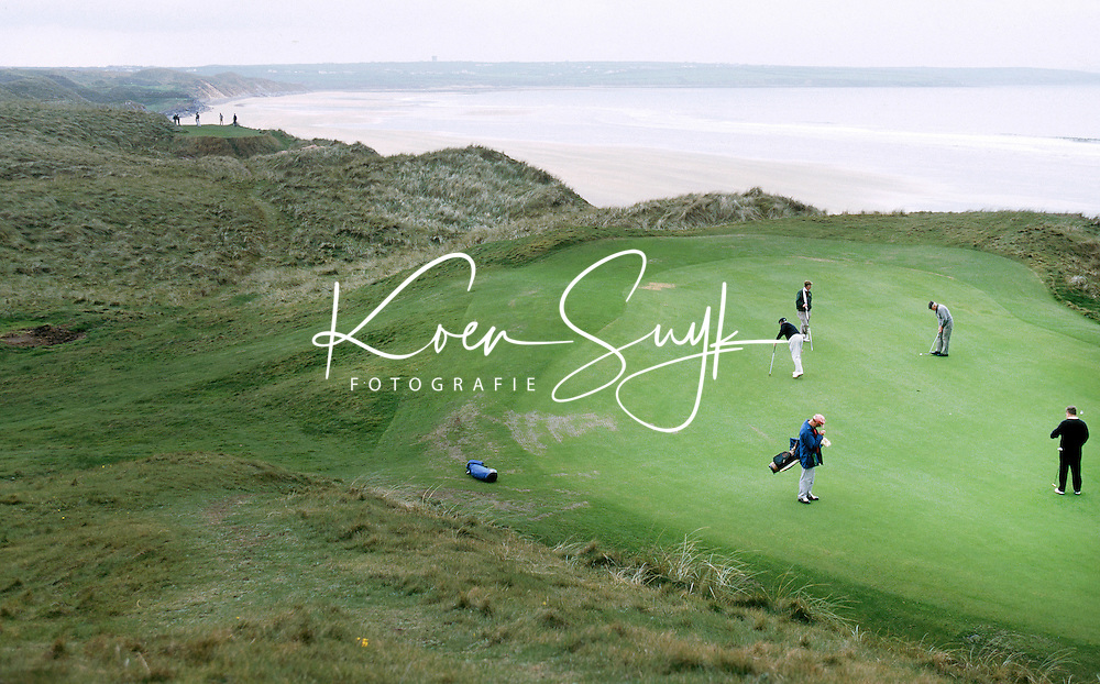 BALLYBUNION GC (Kerry), the Old Course.