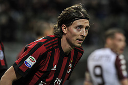 November 26, 2017 - Milan, Italy - Riccardo Montolivo of AC Milan during Italian serie A match AC Milan vs Torino FC at San Siro Stadium  (Credit Image: © Gaetano Piazzolla/Pacific Press via ZUMA Wire)