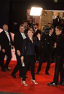 France, Paris, Scarlett Johansson arrive à la cérémonie des César 2014, Théatre du Chatelet