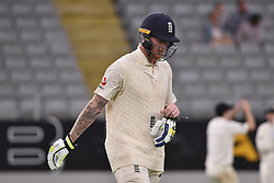 March 26, 2018 - Auckland, Auckland, New Zealand - Ben Stokes of England heads to the dressing room after being dismissed during Day Five of the First Test match between New Zealand and England at Eden Park in Auckland on Mar 26, 2018. (Credit Image: © Shirley Kwok/Pacific Press via ZUMA Wire)