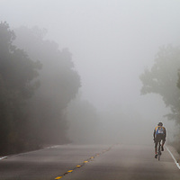 Riders in the Ojai Valley Century Bike Ride take on a 100 mile ride through Ojai, Ventura and Santa Barbara Counties.