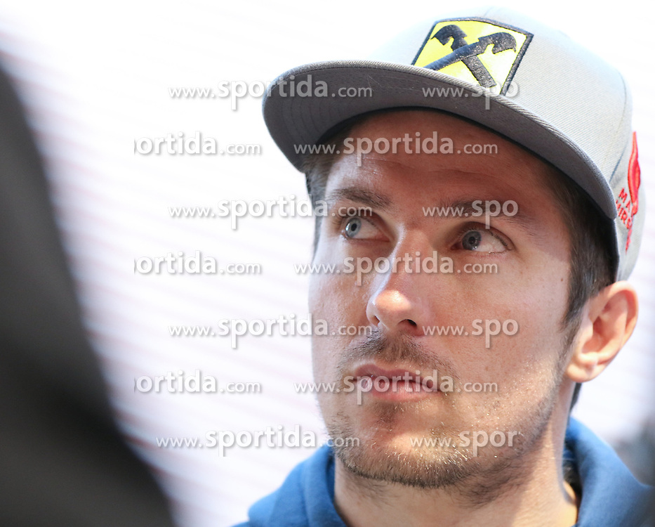 05.10.2015, Atomic Homebase, Altenmarkt, AUT, Atomic Medien Tag, im Bild Marcel Hirscher (AUT) // Marcel Hirscher of Austria during the Atomic Media Day at Atomic Homebase in Altenmarkt, Austria on 2015/10/05. EXPA Pictures © 2015, PhotoCredit: EXPA/ Martin Huber