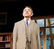 Quartermaine's Terms <br /> by Simon Gray <br /> at the Wyndham's Theatre, London, great Britain <br /> press photocall<br /> 25th January 2013 <br /> directed by Richard Eyre<br /> <br /> Rowan Atkinson as St John Quartermaine<br /> Conleith Hill as Henry Windscape<br /> Will Keen as Derek Meadle<br /> Felicity Montague as Melanie Garth<br /> Malcolm Sinclair as Eddie Loomis<br /> Louise Ford as Anita Manchip <br /> Matthew Cottle as Mark Sackling <br /> <br /> Photograph by Elliott Franks