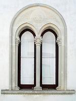 Finestra bifora, Taviano (LE), Italia