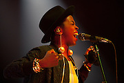 Lauryn Hill performs during the Summer Spirit Festival at Merriweather Post Pavilion in Columbia, MD on Saturday, August 2, 2014.